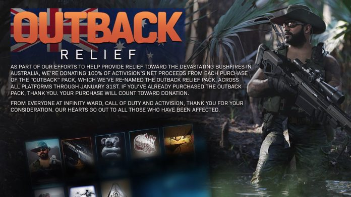 Outback Relief Pack Call of Duty
