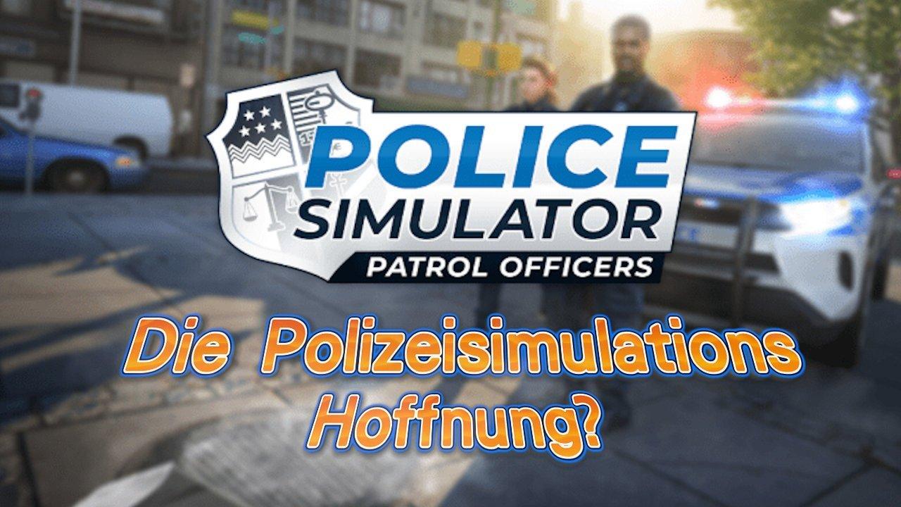 Police Simulator Title
