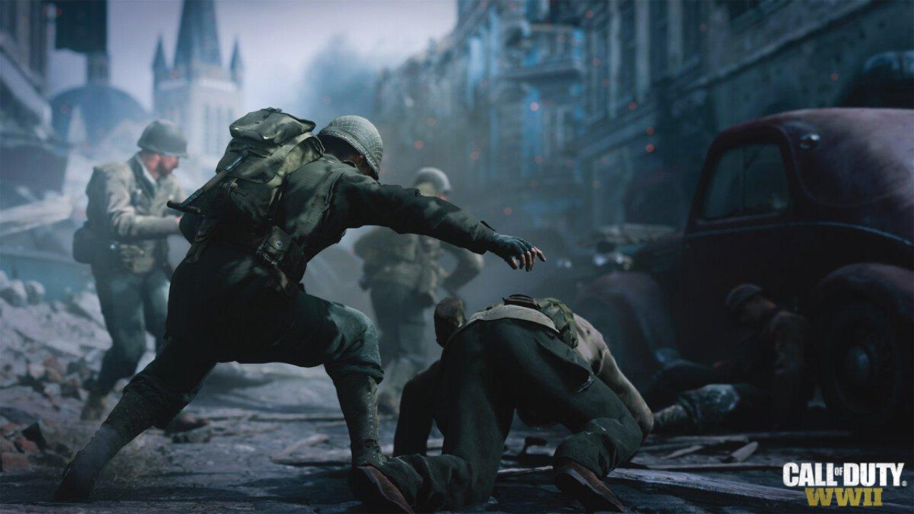 Call of Duty WWII Rettung