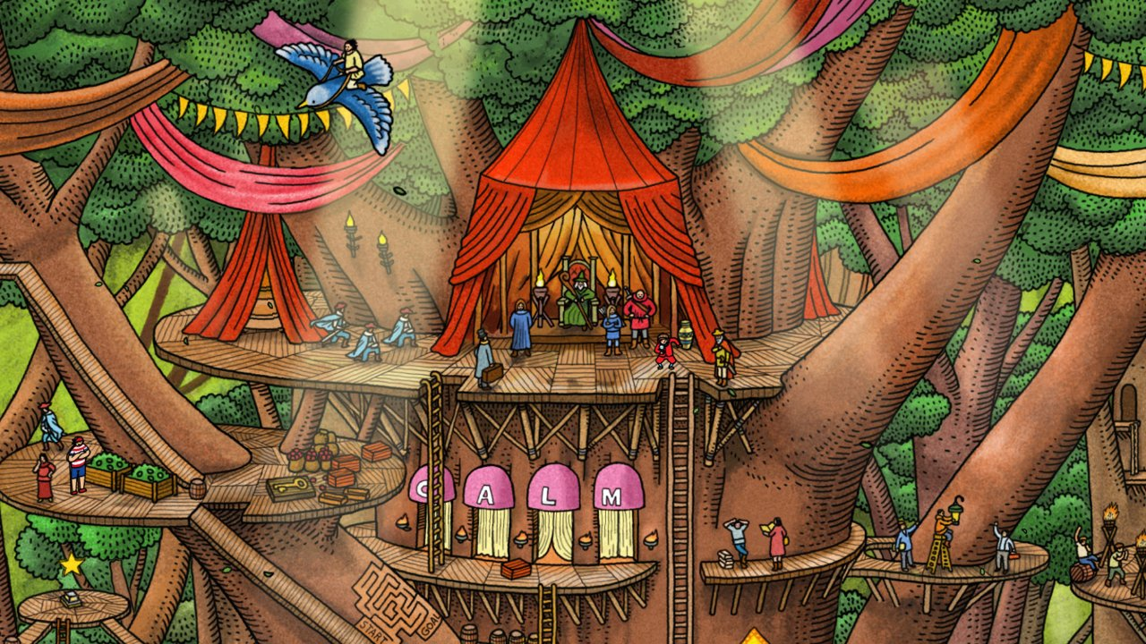 Labyrinth City Forest Murphy